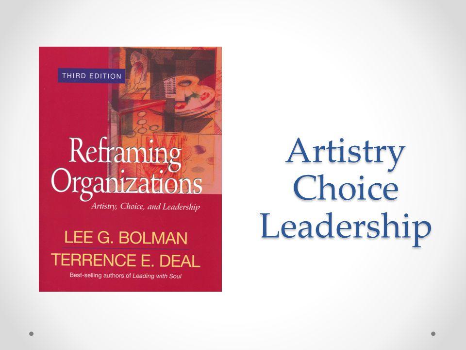 Artistry Choice Leadership
