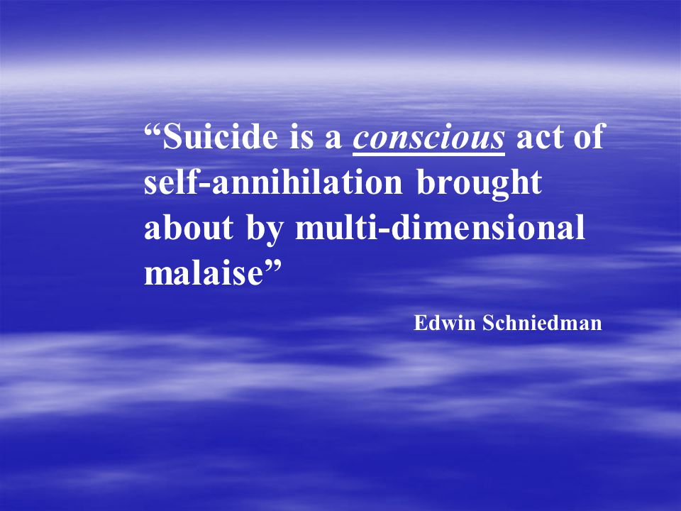 (Warning Signs Continued)  Excessive Focus on Suicide as a Subject  Taking Unnecessary Risks