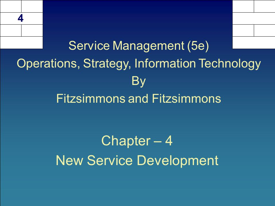 4-2  Discuss the new service development process.