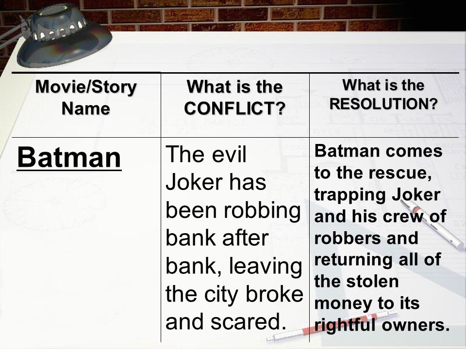Batman comes to the rescue, trapping Joker and his crew of robbers and returning all of the stolen money to its rightful owners.