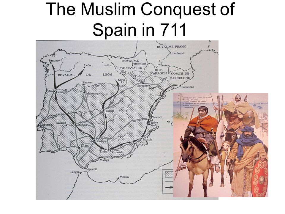 The Muslim Conquest of Spain in 711