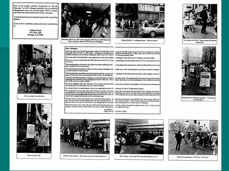 CWA Members Mourn Faheem In January 2003, two little boys were found locked in a basement in Newark.