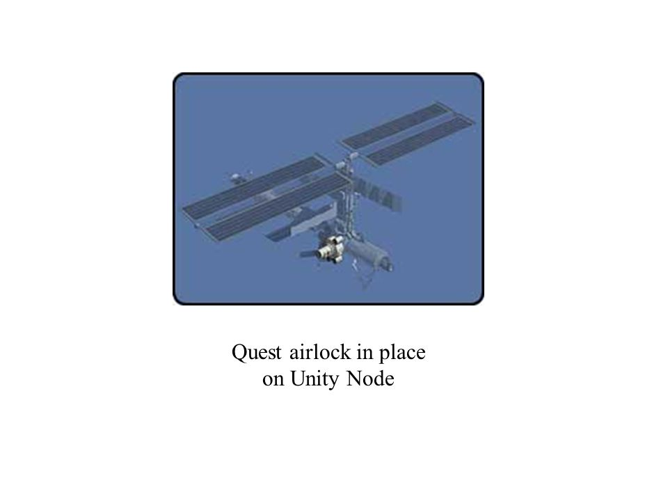 Quest airlock in place on Unity Node