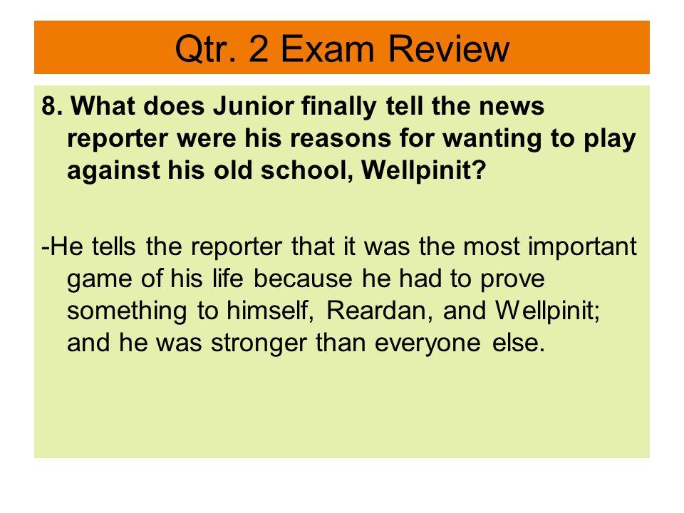 Qtr.2 Exam Review 9.