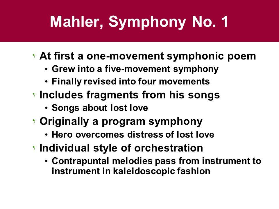 Mahler, Symphony No.