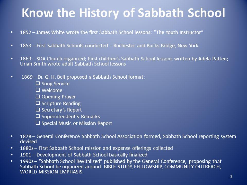 Suggested Ways to Increase Sabbath School Attendance 1.