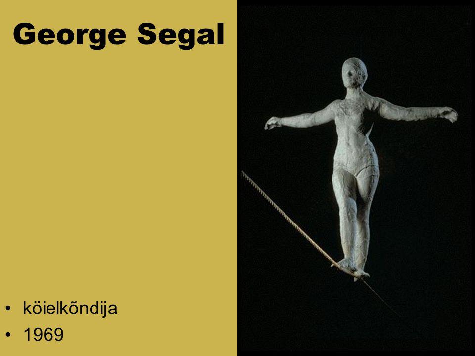George Segal köielkõndija 1969