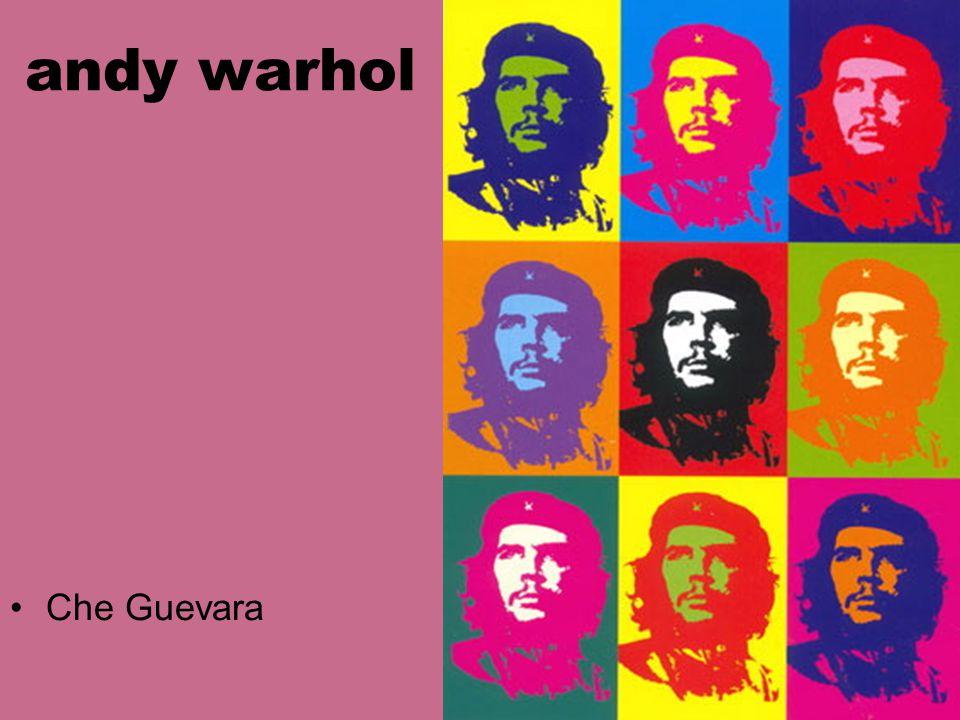 andy warhol Che Guevara