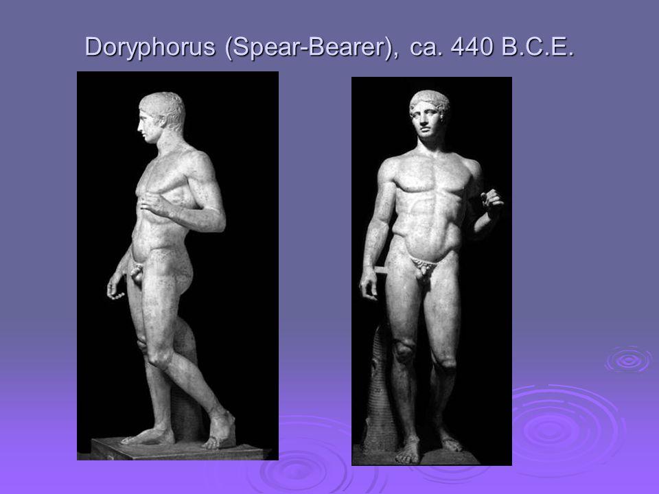 Doryphorus (Spear-Bearer), ca. 440 B.C.E.