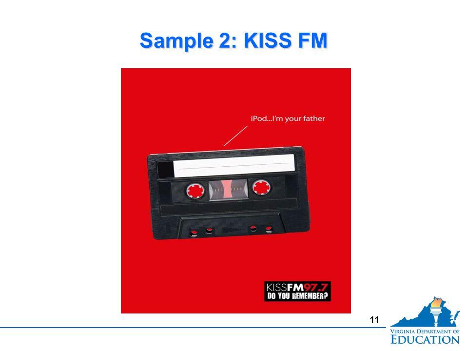 Sample 2: KISS FM 11