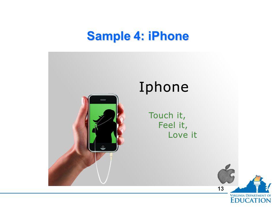 Sample 4: iPhone 13