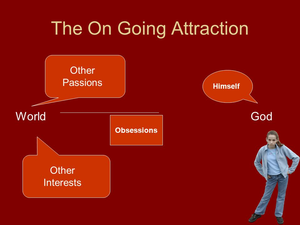 The On Going Attraction WorldGod Other Passions Other Interests Himself Obsessions