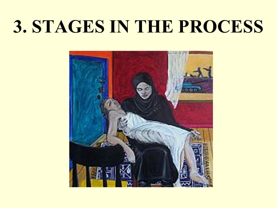 3. STAGES IN THE PROCESS
