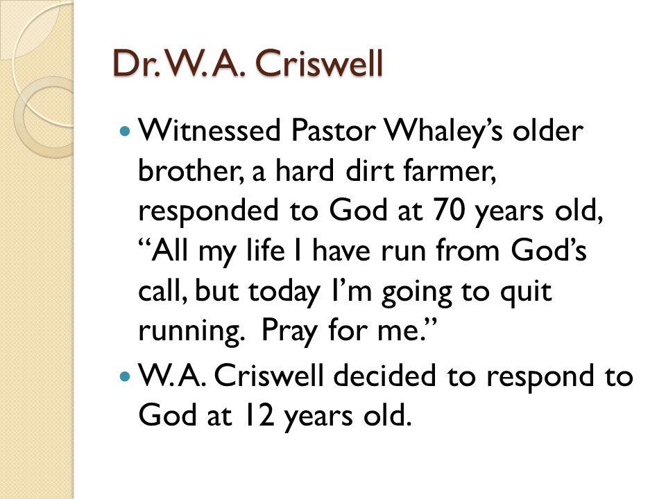 Dr.W. A.