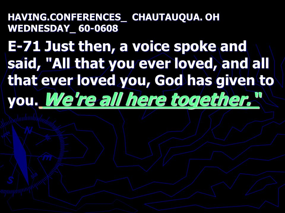 HAVING.CONFERENCES_ CHAUTAUQUA.