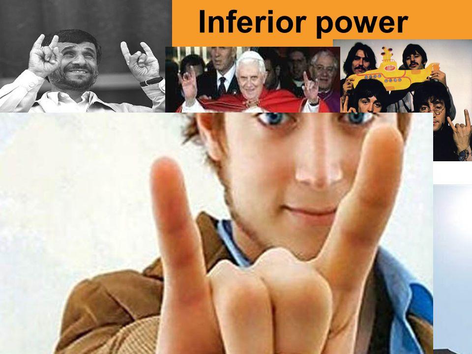 Inferior power