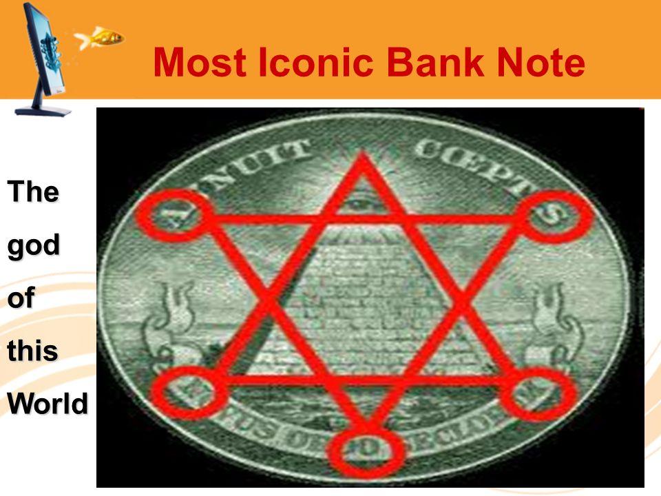 Most Iconic Bank Note ThegodofthisWorld