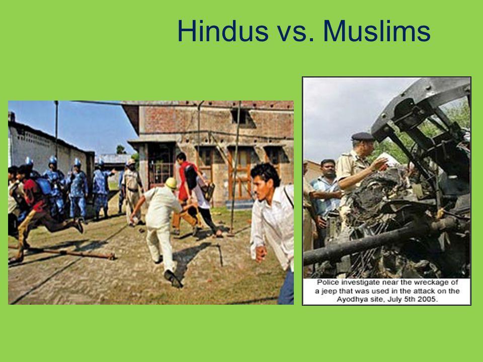 Hindus vs. Muslims