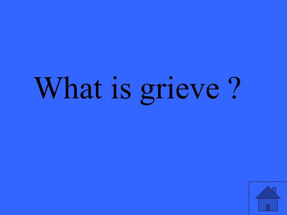 What is grieve ?