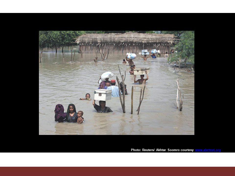 Photo: Reuters/ Akhtar Soomro courtesy www.alertnet.orgwww.alertnet.org