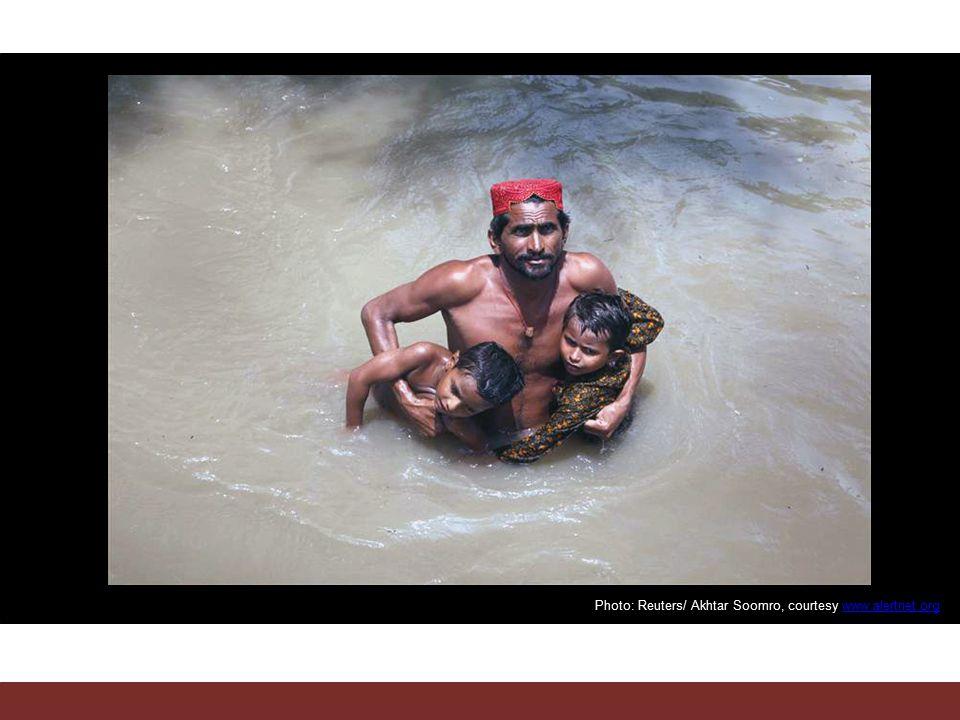 Photo: Reuters/ Akhtar Soomro, courtesy www.alertnet.orgwww.alertnet.org