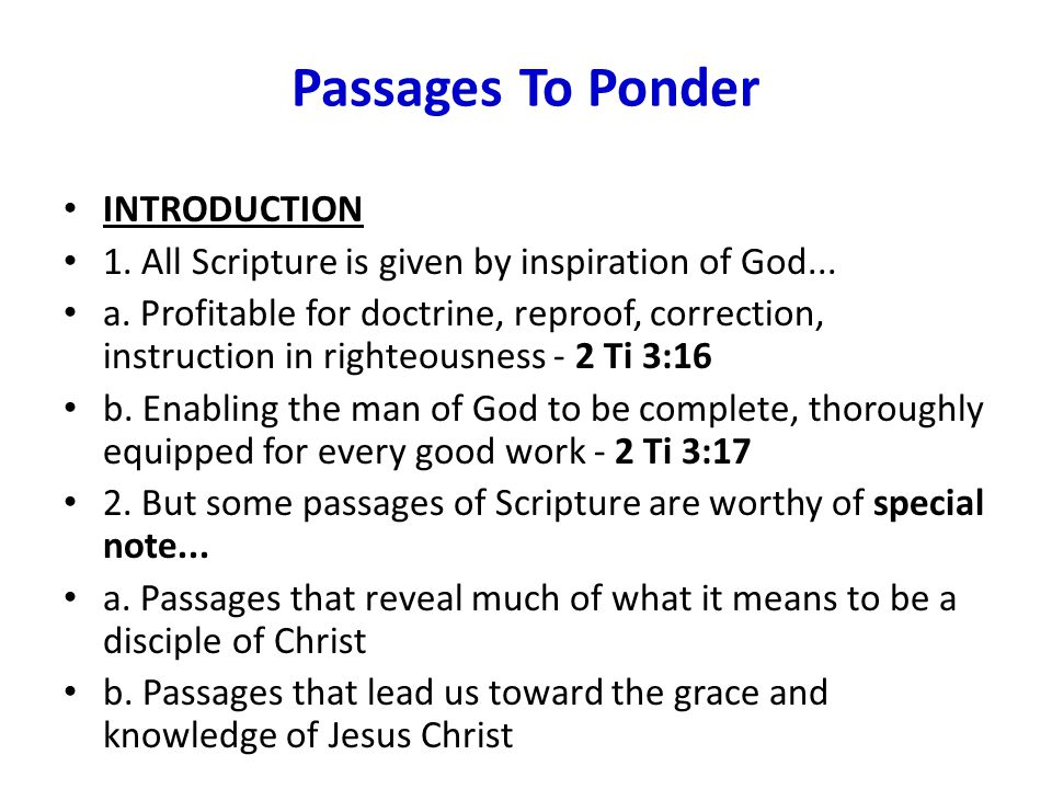 Conclusion 1.The Beatitudes Of The Kingdom is a wonderful passage of Scripture...