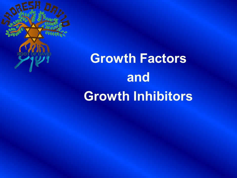 Growth Factors and Growth Inhibitors