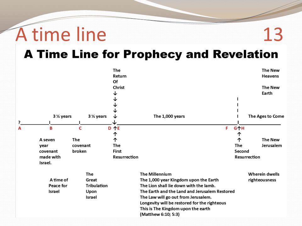 A time line 13