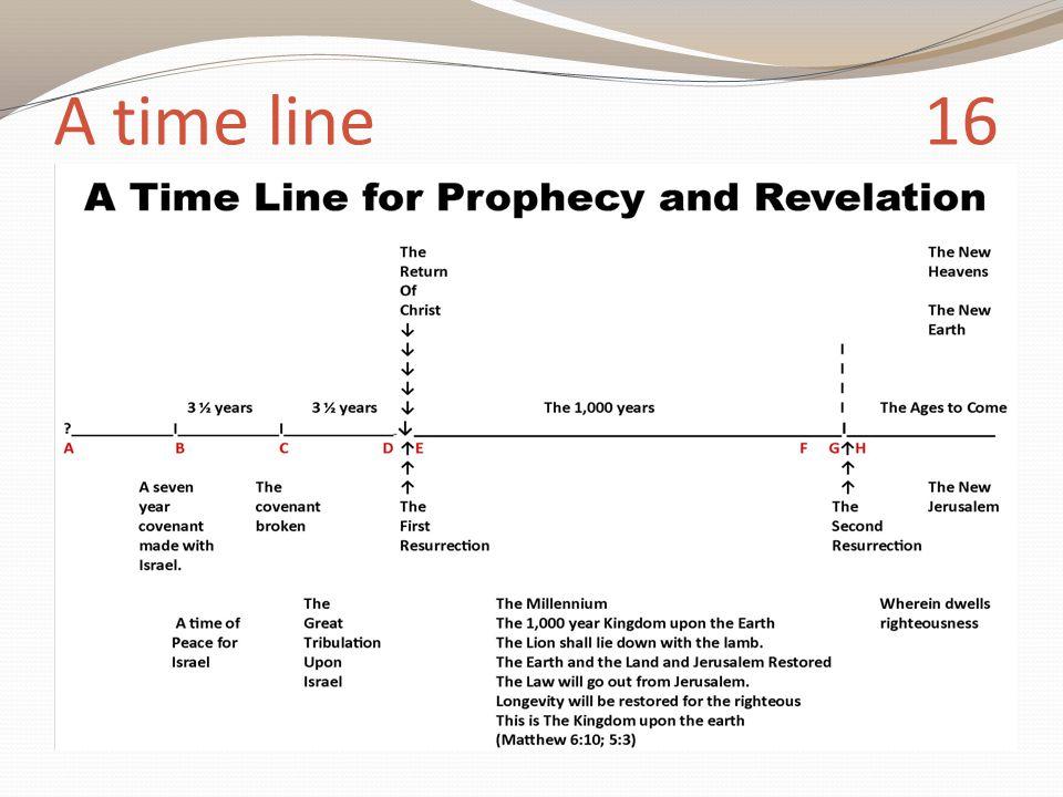 A time line 16
