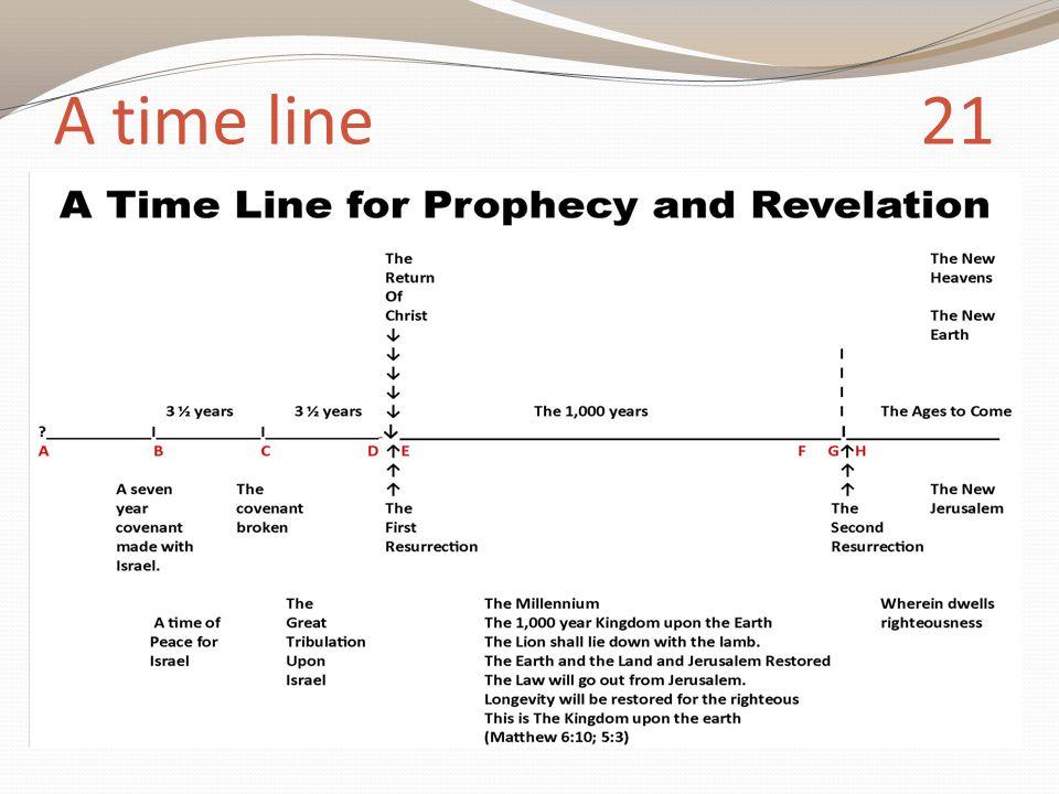 A time line 21