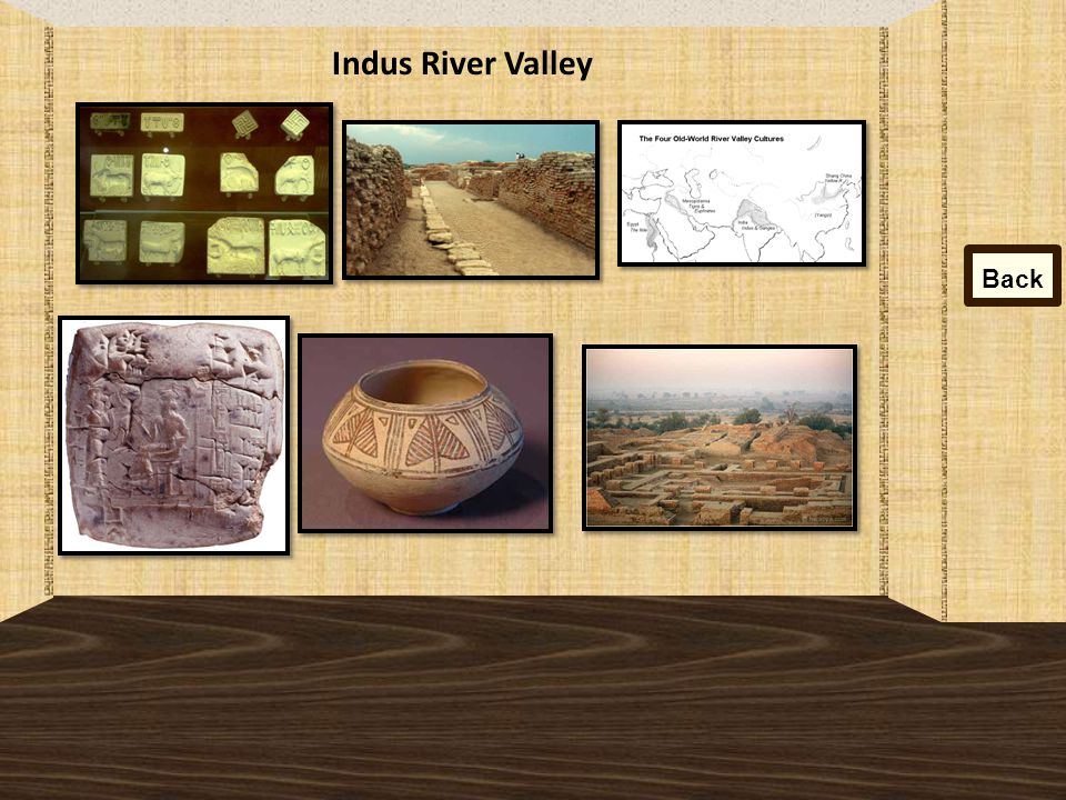 Indus River Valley Back