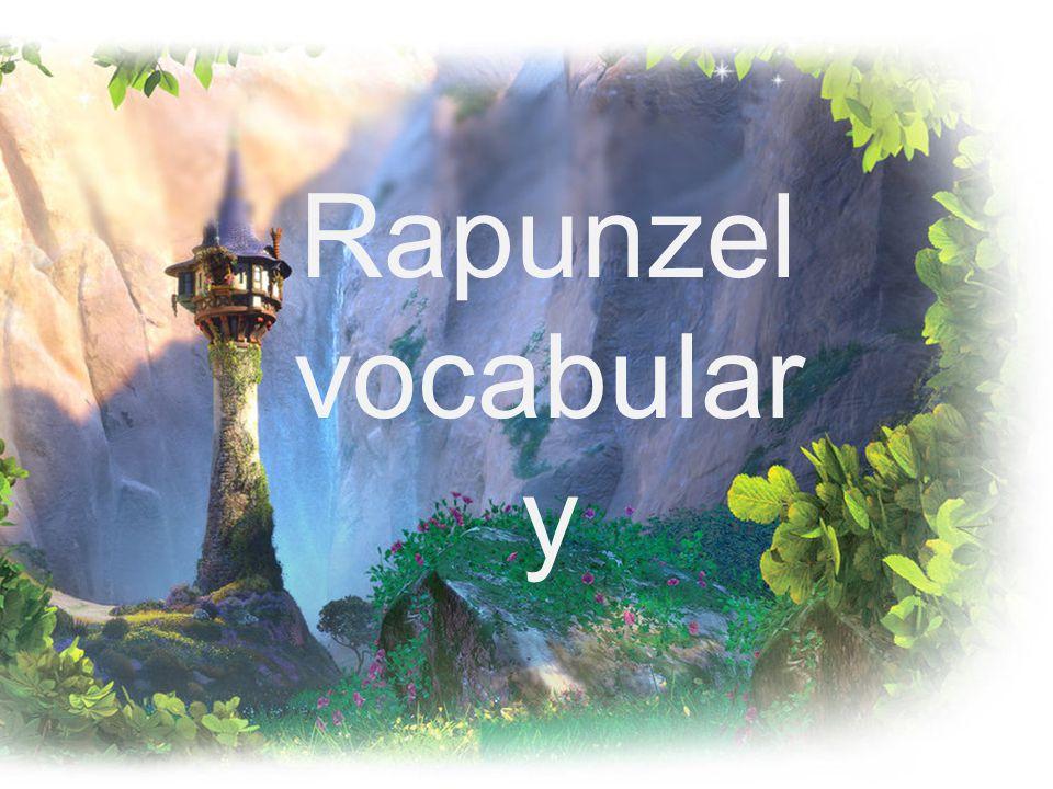 Rapunzel vocabular y
