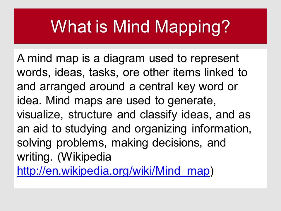 What is Mind Mapping What is Mind Mapping.