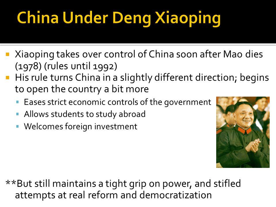 THE PRC…