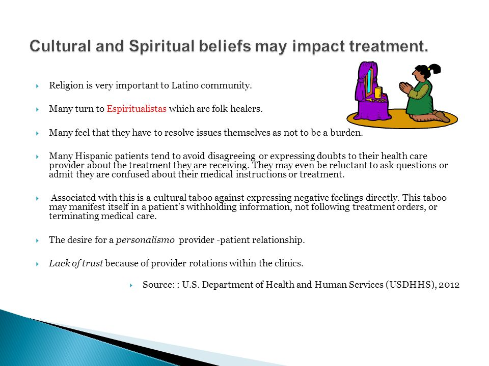  Religion is very important to Latino community.