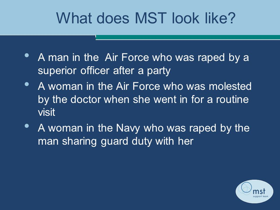 What does MST look like.