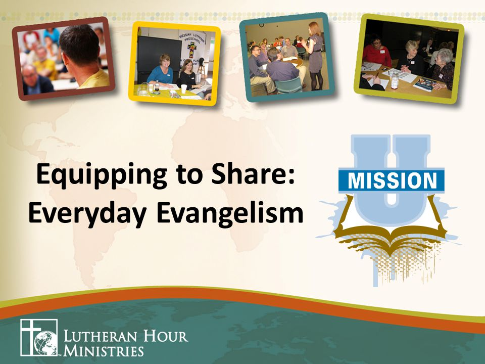 Equipping to Share: Everyday Evangelism