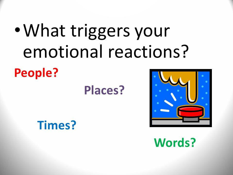 Level II: Emotion Management 1.Impulse control 2.