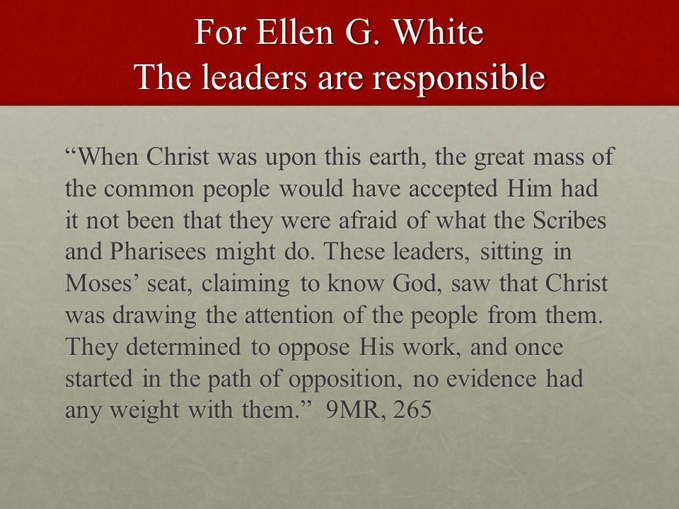 For Ellen G.