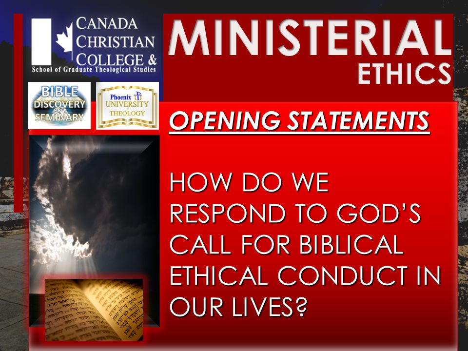 PRINCIPLES FOR ETHICAL CONDUCT PRINCIPLES FOR ETHICAL CONDUCT Luke 10:25-37 three do you think was neighbor to him who fell among the thieves? 37 And he said, He who showed mercy on him. Then Jesus said to him, Go and do likewise.
