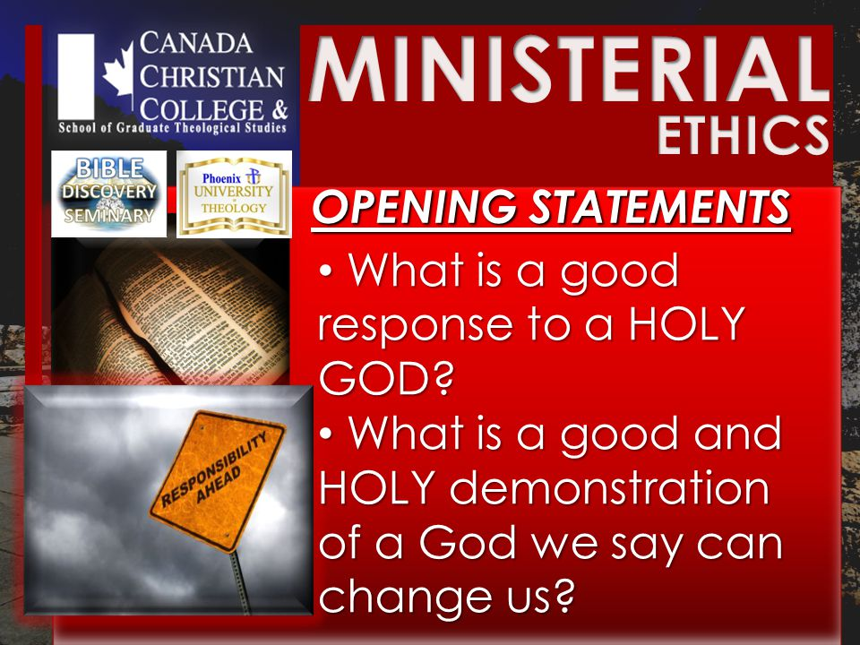 BIBLICAL ETHICS BIBLICAL ETHICS Biblical ethics CANNOT tolerate unchecked LUST.