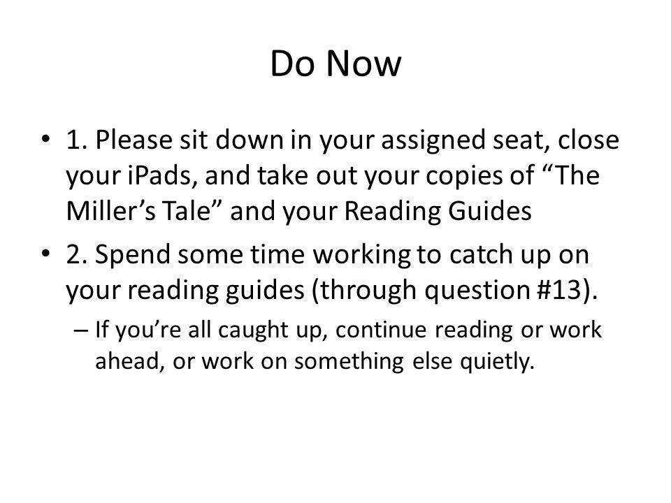 Do Now 1.