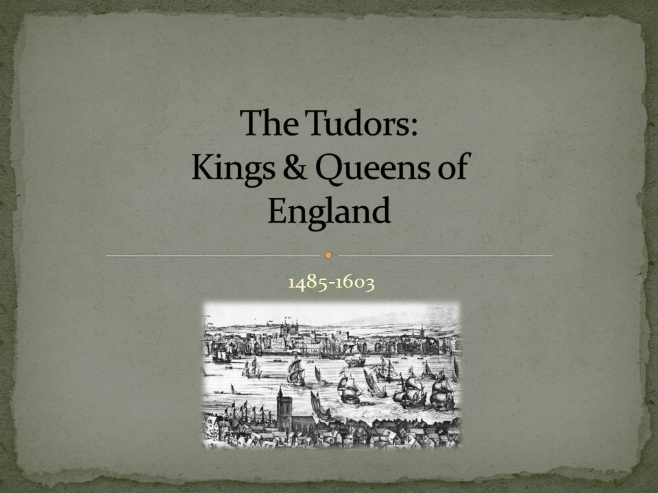 Here are some good websites about the Tudors: -http://englishhistory.net/tudor/monarchs.htmlhttp://englishhistory.net/tudor/monarchs.html -http://tudorhistory.org/http://tudorhistory.org/ -http://www.elizabethi.org/http://www.elizabethi.org/ - http://www.britannia.com/history/monarchs/ http://www.britannia.com/history/monarchs/