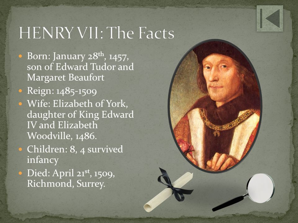 1485: Henry defeats Richard III at the Battle of Bosworth.