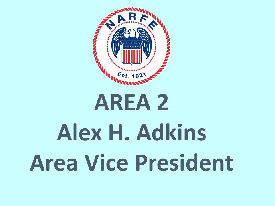 AREA 2 Alex H. Adkins Area Vice President