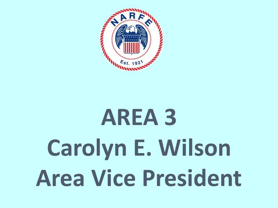AREA 3 Carolyn E. Wilson Area Vice President