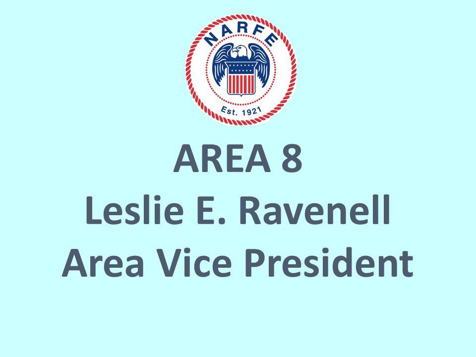 AREA 8 Leslie E. Ravenell Area Vice President