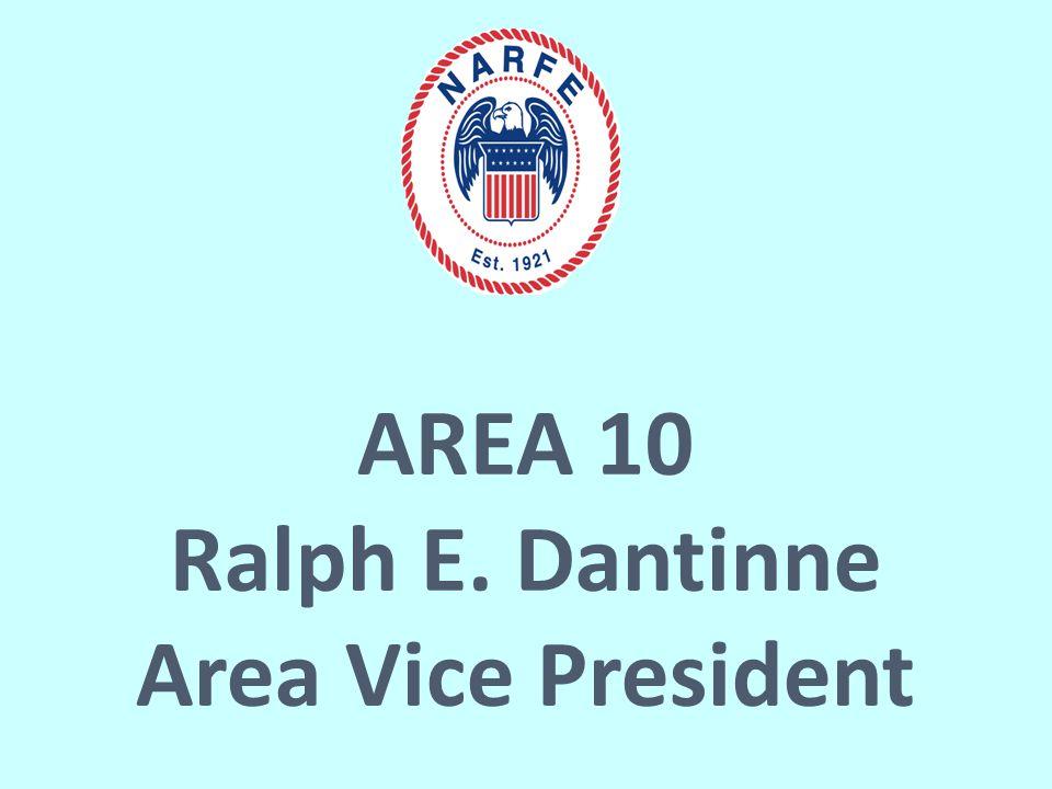 AREA 10 Ralph E. Dantinne Area Vice President