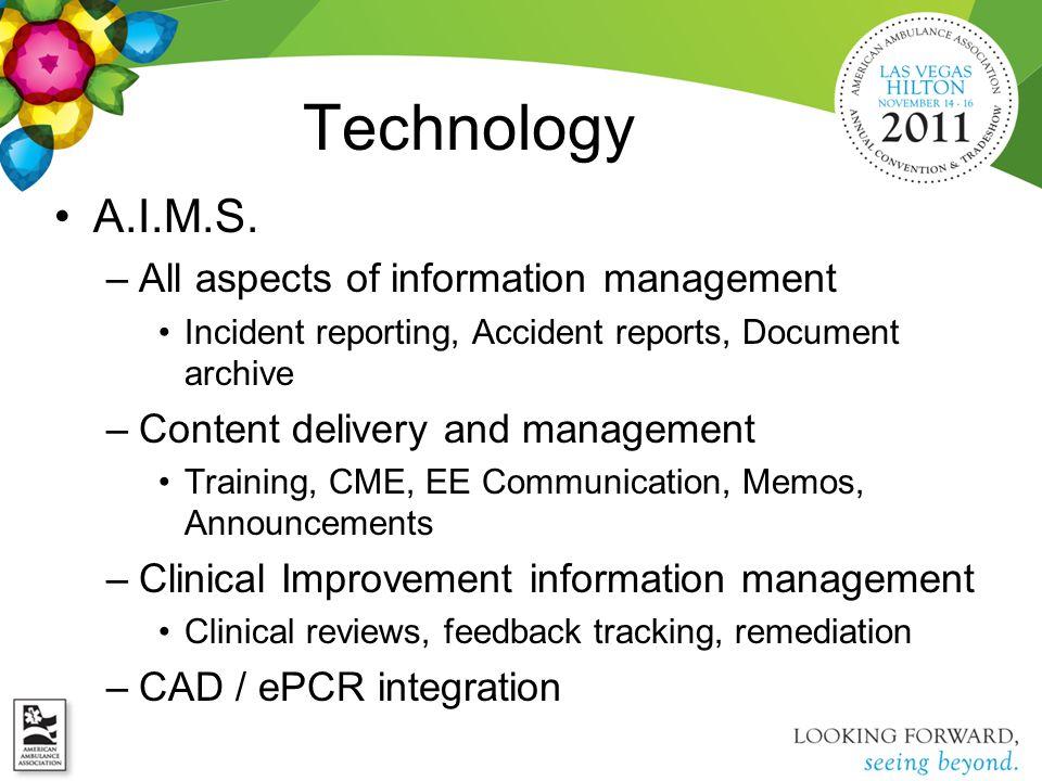 Technology A.I.M.S.