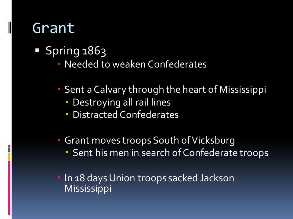 Vicksburg  Ulysses S.
